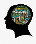 stock photo of enthusiastic  - Type of personality in word collage - JPG