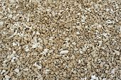 stock photo of fraction  - Middle fraction of crushed stones material texture - JPG