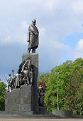 Monument To Taras Shevchenko poster
