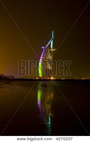 Burj Al Arab Golden Night 2009