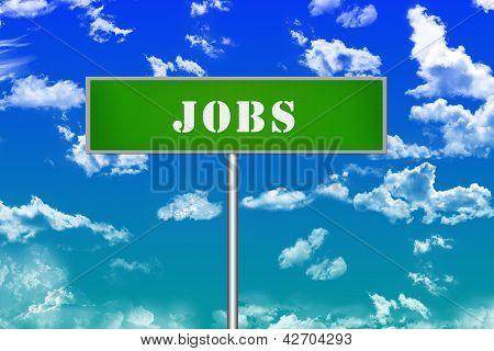 Jobs Sign Board