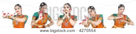 Indian Classical Female Dance