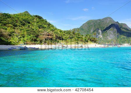 Picturesque sea landscape.
