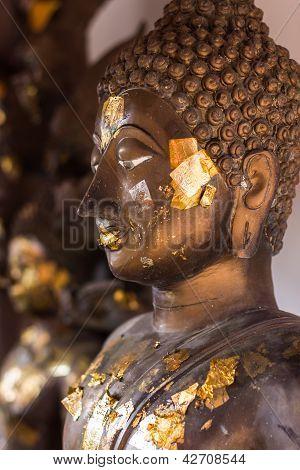 Buddha Statue In Wat Doikum