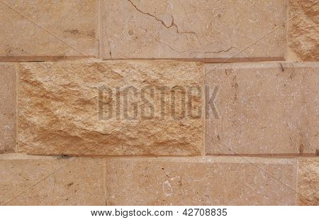 large yellow brick texture for background
