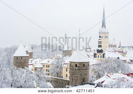 Old Town. Tallinn,  Estonia