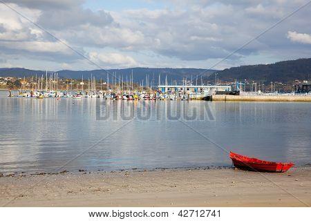 Port Of Ares, La Coruna, Galicia, Spain