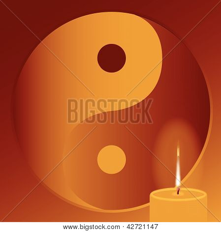 Buddhist Candle