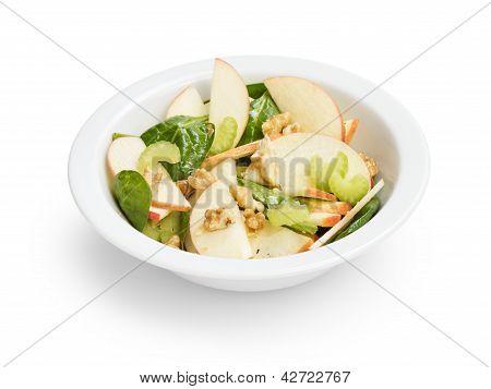 Modern Variation Of Waldorf Salad