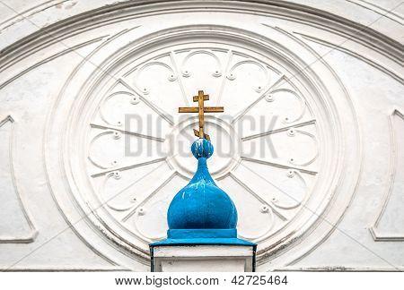 Details of Bogolubovo monastery.