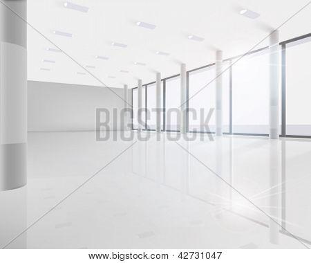 Conference room. Vector illustration.