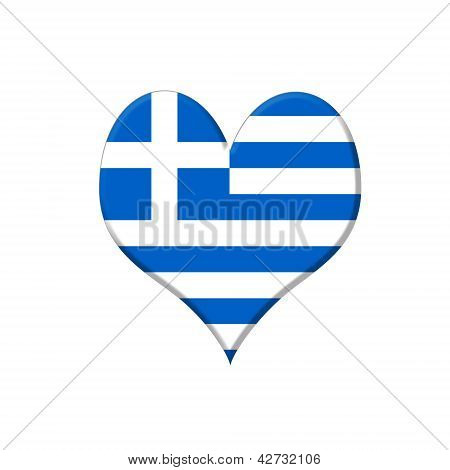 Greece Heart.
