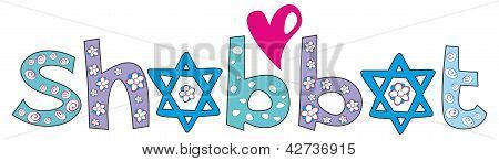 Holiday Shabbat Design - Jewish Greeting Background, Vector Illustration