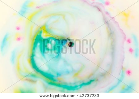 Fundo aquarela mão desenhada