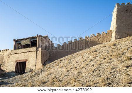 East Gate Of Jiayuguan Castle, Gansu Of China