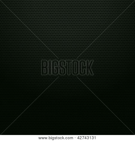 Seamless metallic surface, perforated sheet, vector illustration