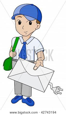 Postman With Email