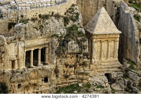 The Kidron Valley,valley Of Jehoshaphat
