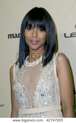 BEVERLY HILLS, CA - JAN. 13: Kerry Washington arrives at the Weinstein Company's 2013 Golden Globes After Party on Sunday, January 13, 2013 at the Beverly Hilton Hotel in Beverly Hills, CA.