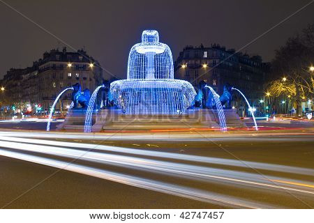 Daumesnil Square, Paris, Ile De France, France