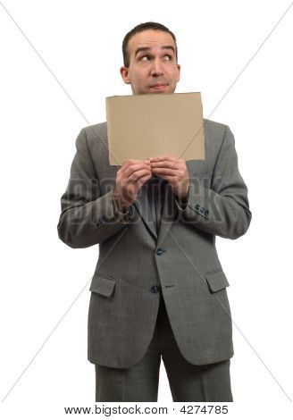 Hopeful Businessman