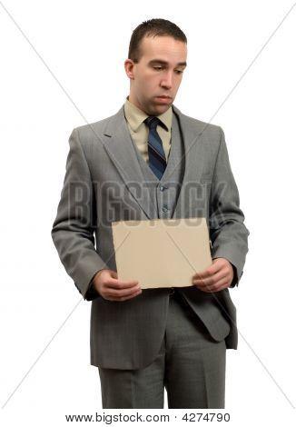 Jobless Businessman