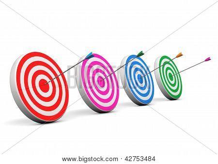 Four Bullseyes