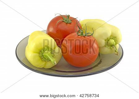 Tomatoes And Bell Peppers
