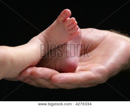 Pés de bebê