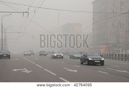 Smog In Prospekt Mira