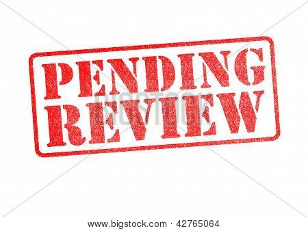 Pending Review Stamp