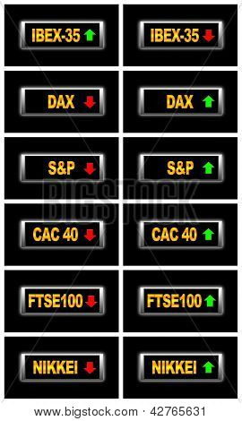 World Stock Markets.