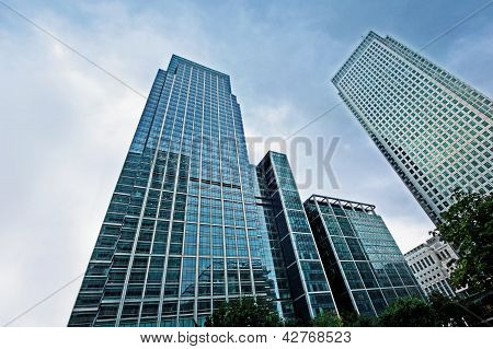 Modern Glass Skyscrapers