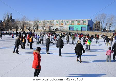 Old port ice ring