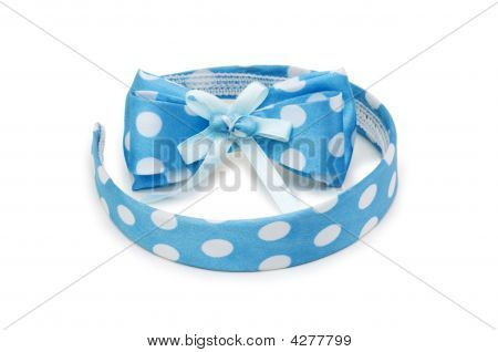 Hair Band Isolated On The White Background