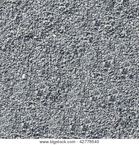 Grey Gravel. Seamless Texture.