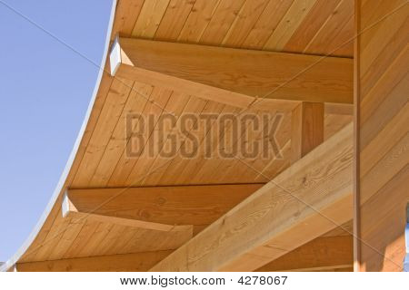 Timber Frame Roof Construction