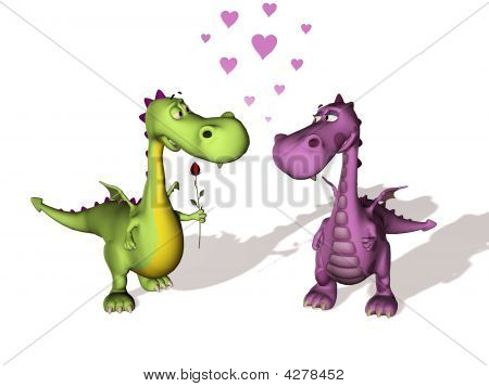 Two Dragons In Love