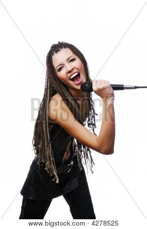 Singer Girl Singing