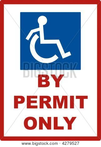 Handicap By Permit Only.