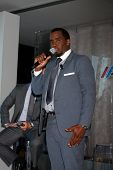 LOS ANGELES - FEB 26:  Sean Combs at the Aqua Hydrate Press Conference at the Private Location on Fe