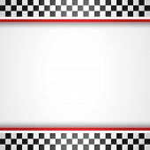 foto of motocross  - Racing square background - JPG
