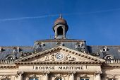 Bourse Maritime, Bordeaux, Gironde, Aquitaine, France poster