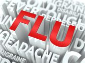 stock photo of influenza  - Flu Concept - JPG