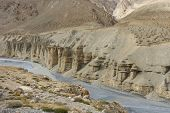 Spiti River near Keylong, India