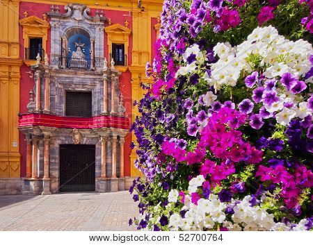 Cityscape Of Malaga, Spain