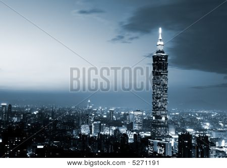 Taipei 101, The Tallest Building In Taiwan