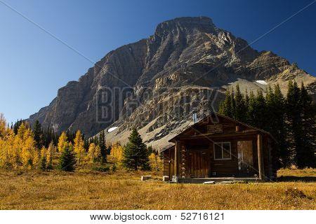 Autumn Ranger Cabin