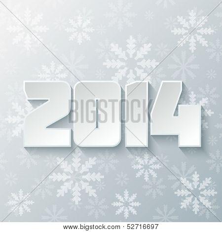 Happy new year 2014 design