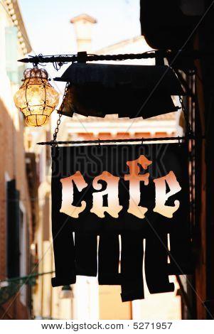 Sign Cafe